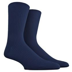 Chaussettes Fil d'Ecosse bleu matelot