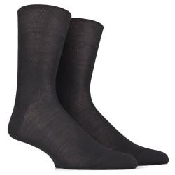 Lot de 6 paires de chaussettes anti transpiration noires