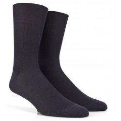 Chaussettes grises fil d'écosse jambes sensibles