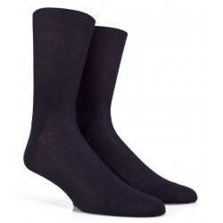 Chaussettes fil d'écosse jambes sensibles - Bleu
