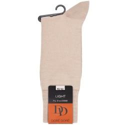 Chaussettes Light en fil d'écosse et Polyamide - Beige