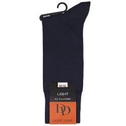 Chaussettes Light en fil d'écosse et Polyamide - Bleu marine